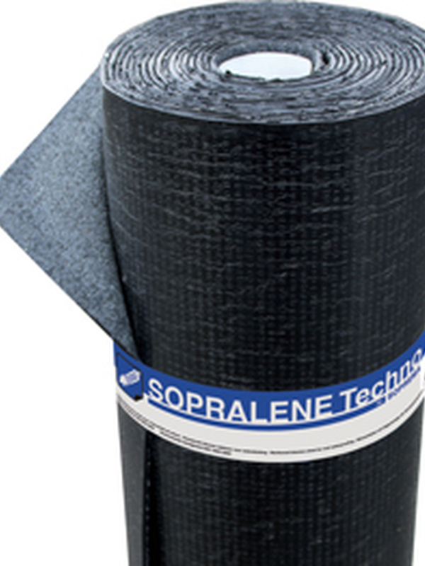 SOPREMA Sopralene Techno 4 AF SBS FR white 8 m x 1 m