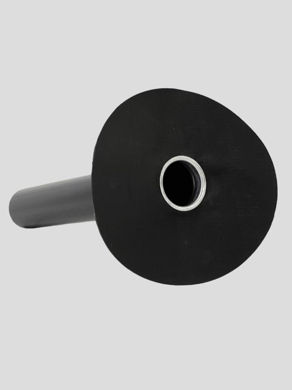 Afloop Cofapro PE 200 mm - L50 met slab EPDM Resitrix SK/W