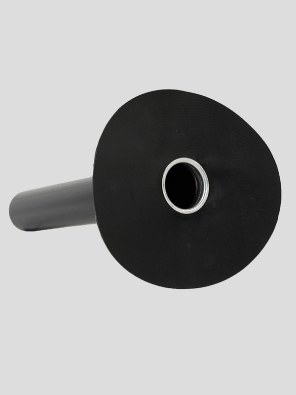 Afloop CofaPro PE 160 mm - L60 met slab bitumen onderlaag 4 mm