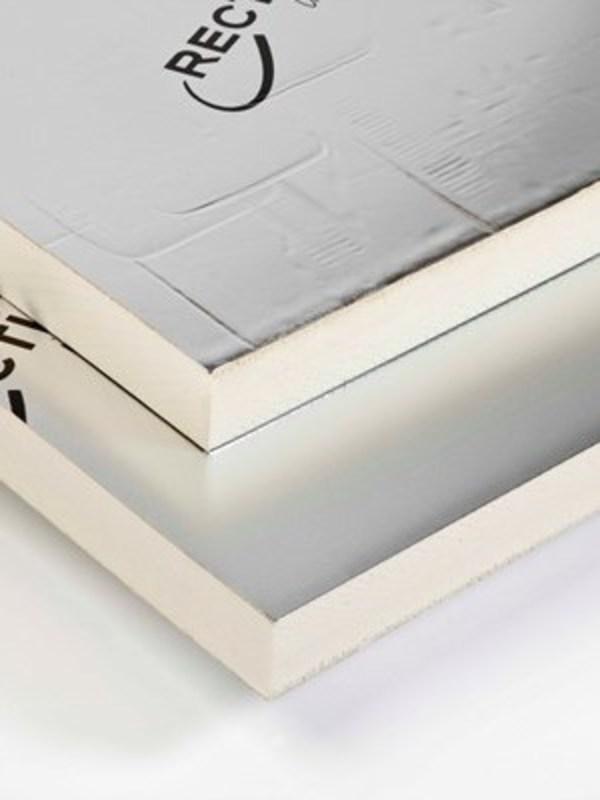 Recticel Eurothane Silver PIR 100 mm 1200x600 mm ( Rd : 4,50 m2K/W )