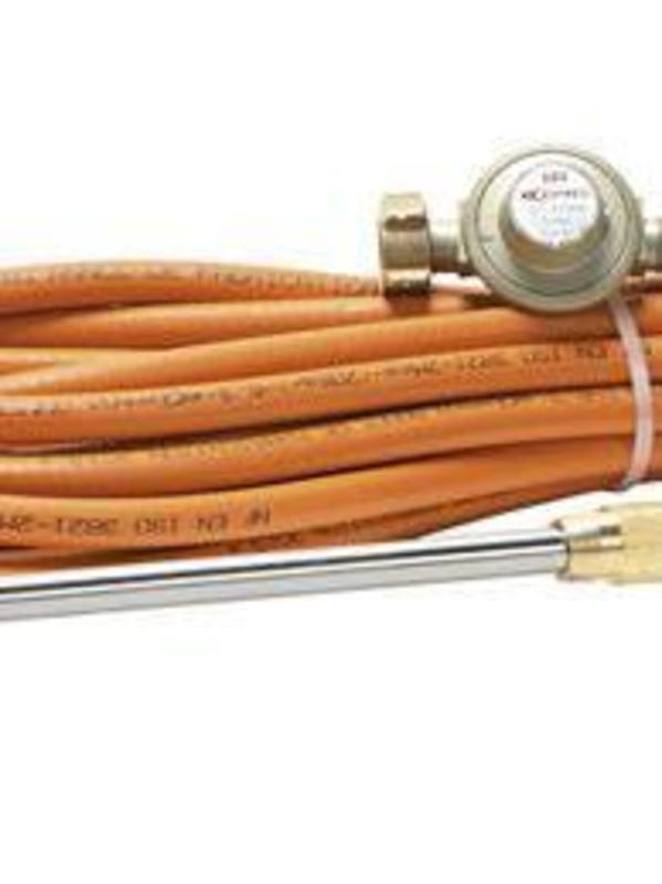 Express HP dakrolbrander 50 cm + 20 m darm + drukregelaar 686 ( set )