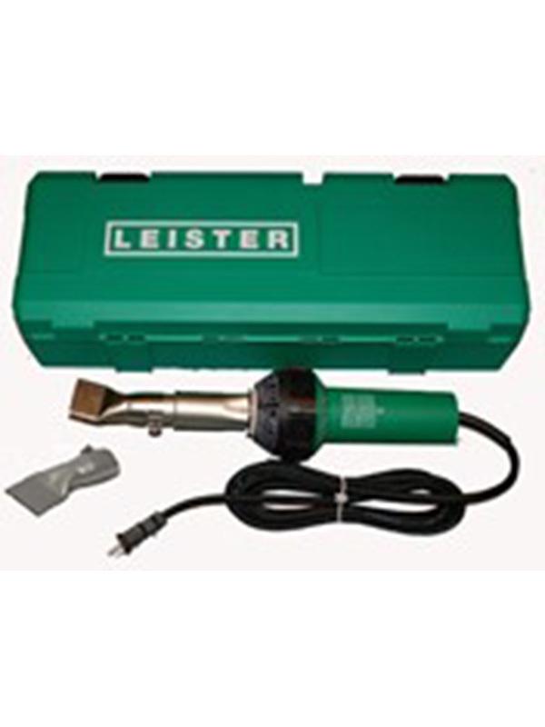Lasapparaat Leister Triac ST + lasbek 40 mm + koffer – voor Resitrix