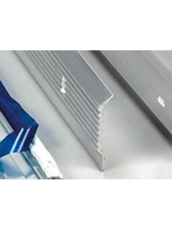 Aluminium dakrandprofiel 60x62 mm anodisé ( L : 3000 mm )