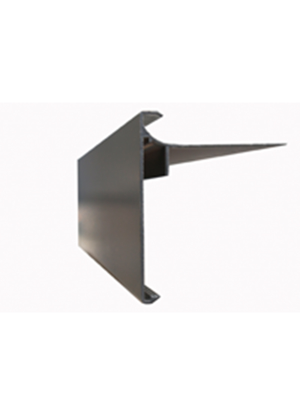 Aluminium dakrandprofiel 80x62 mm anodisé ( L : 3000 mm )