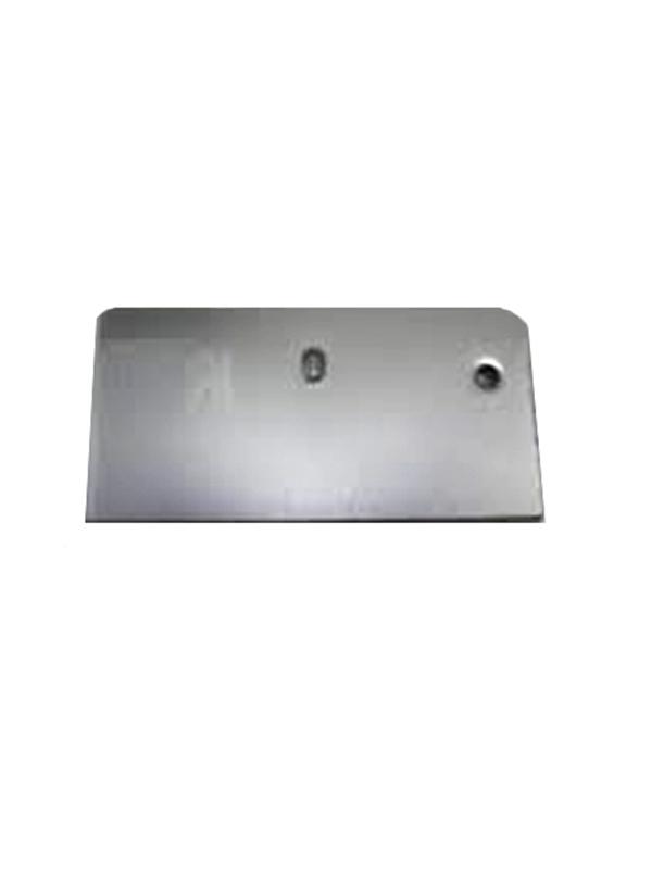 Koppelplaatje 60x62 mm anodisé / RAL / STRUCTUUR