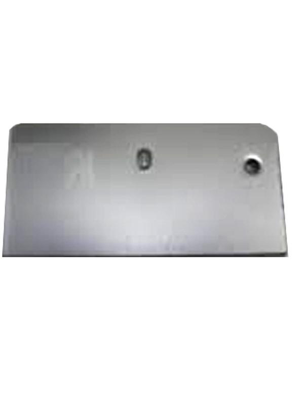 Koppelplaatje 80x62 mm anodisé / RAL / STRUCTUUR