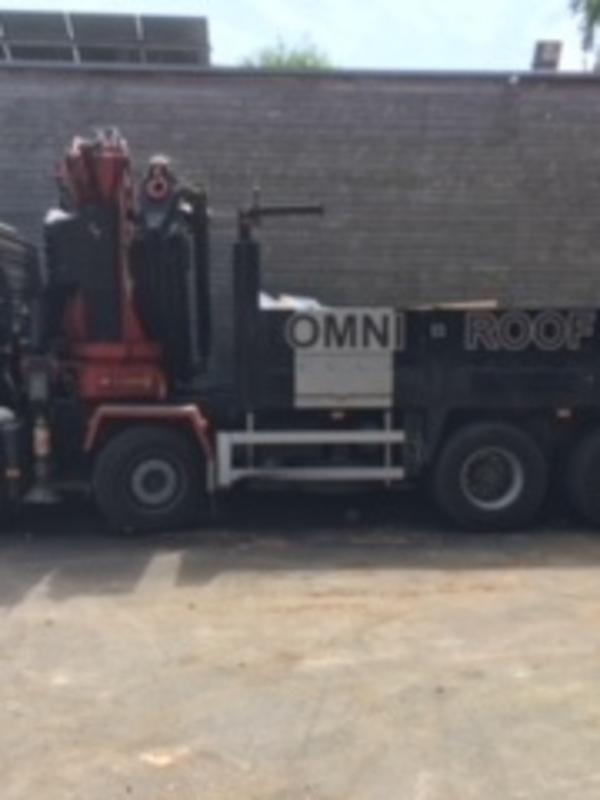 Levering met vrachtwagen + kraan - min. 750,00 € ( straal van 10 km van magazijn )